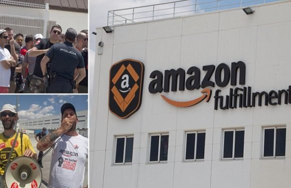 Amazon Prime Day CHAOS as warehouse workers go on strike