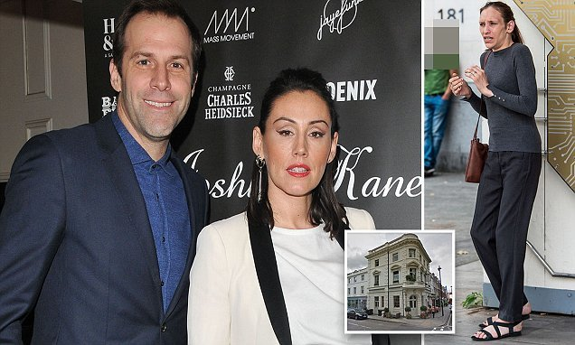 Greg Rusedski's film producer wife reveals her shock at being mugged
