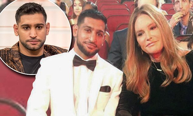 Amir Khan posts apology after being accused of being 'transphobic'