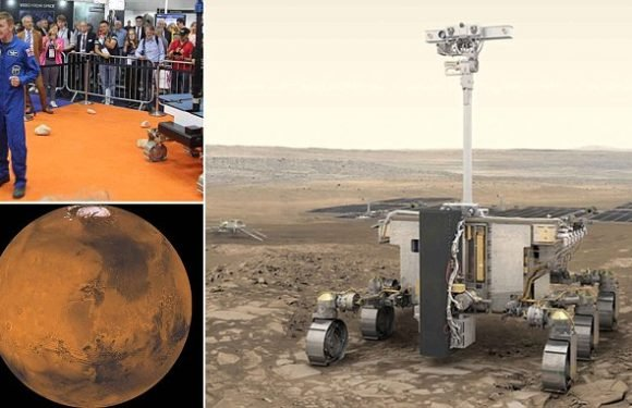Astronaut Tim Peake launches a competition to name the Mars rover