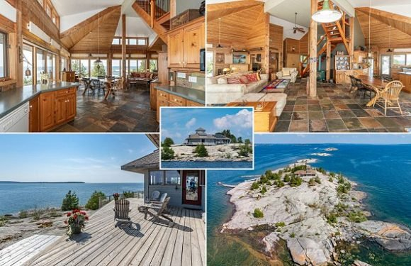 Incredible archipelago home in Canada goes on sale for $2.5million