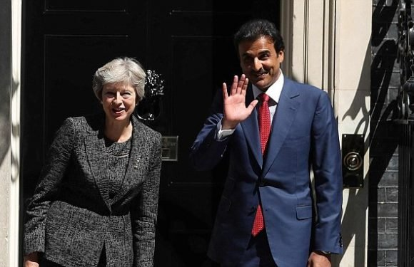 May bids for UK work on 2022 World Cup in talks with Qatari Emir