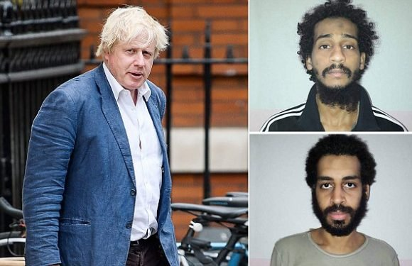 Drone strikes 'payback' against murdering jihadis, Boris Johnson says