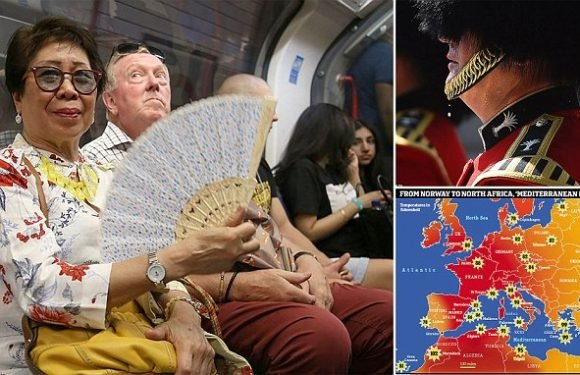 The Brits really DO have it worse when it comes to heatwaves!