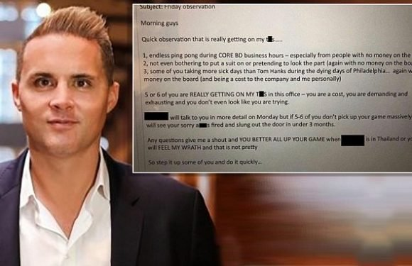 Sydney recruiter is the man behind the viral email sent to staff