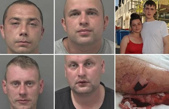Polish men jailed for racist attack on girl and her English boyfriend