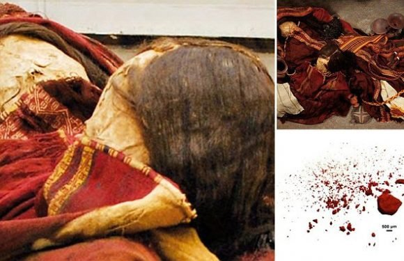 Embalmed bodies of Incan women were clothed in poison-laced dresses