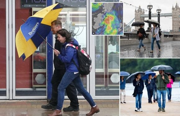 Britain rocked by 50mph winds due to 'drastic' weather change