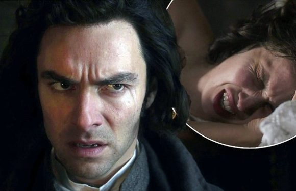 The death of Ross' ex in the Season Four finale of Poldark