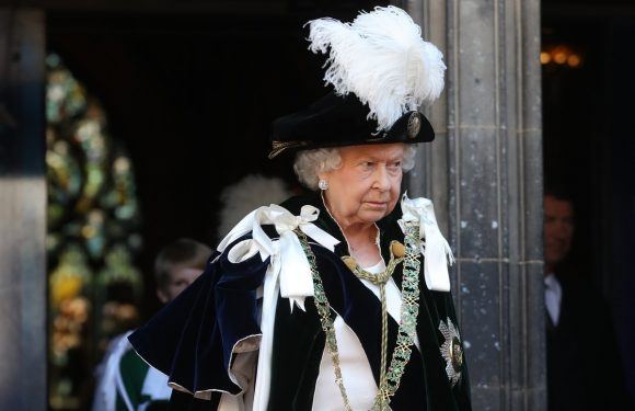 Queen Elizabeth Just Wore Her Most Extra Outfit Ever