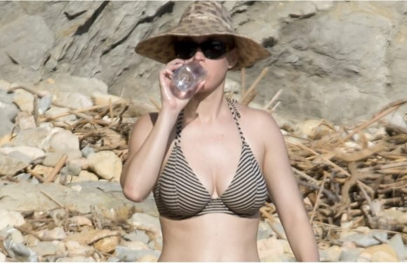 Katy Perry Flaunts Her Bikini Body on the Beach in Ibiza, and Suddenly We Need a Vacation