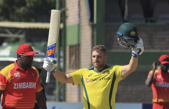 Finch smashes his own T20 international record with 172