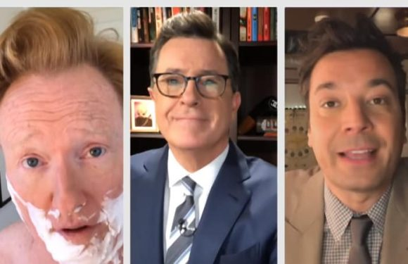 Late-night hosts Colbert, Fallon and O'Brien offer joint response to Trump attacks