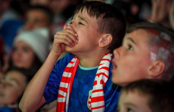 Dream run ends for thousands of Croatian soccer fans at Melbourne party