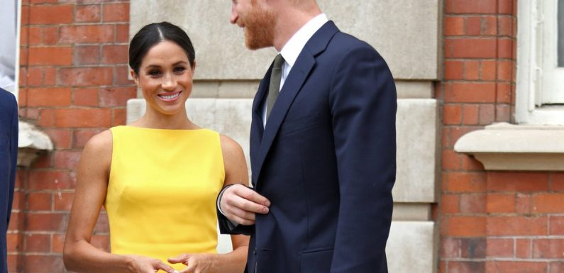 When We Say Meghan Markle's Dress Is Brighter Than the Sun, We're Hardly Exaggerating