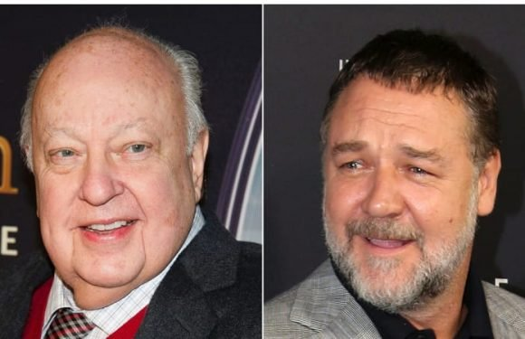 Russell Crowe to play disgraced Fox News boss Roger Ailes