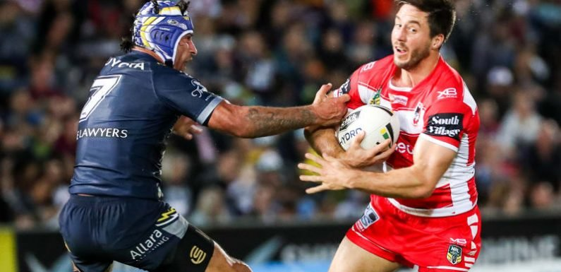 Dragons leap back to top of the ladder with defeat of Cowboys