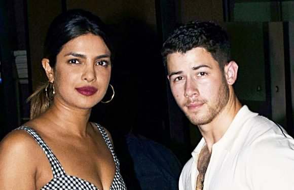 Priyanka Chopra and Nick Jonas Wear Matching Gold Bands: Pics