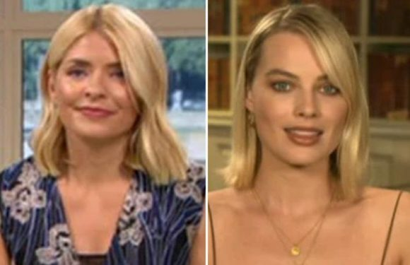 Holly Willoughby and Margot Robbie could be sisters' claim viewers who say they're the spitting image of each other after appearing on This Morning