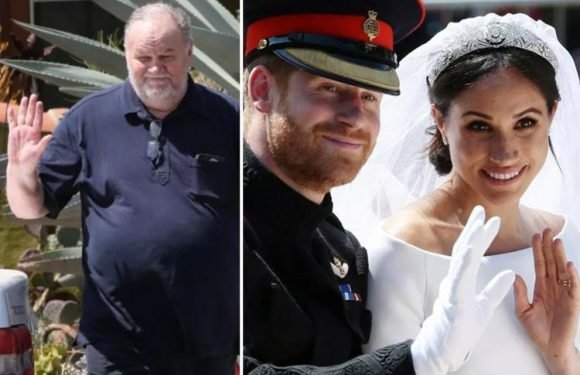 Thomas Markle's heart surgery that saw him miss Meghan and Harry's royal wedding was 'MADE UP for sympathy', pal claims