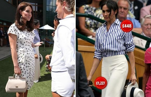 Meghan Markle topples Kate Middleton as queen of style as her whole £1,700 Wimbledon outfit sells out