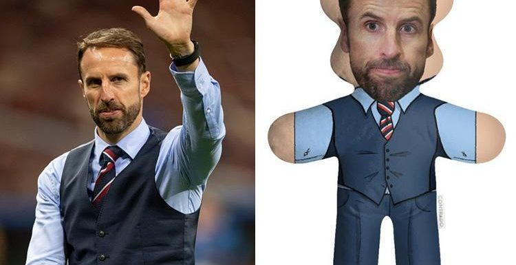 From the people who brought you the Meghan and Harry swimsuit you can now get a cuddly toy Gareth Southgate – and it's adorable