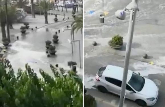 Majorca and Menorca beaches hit by mini-tsunamis as dad is swept to his death by massive wave in front of his wife and kids
