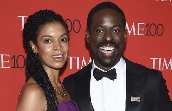 'This Is Us' Star Sterling K. Brown Back At Work, Does The Shiggy With TV Wife Susan Kelechi Watson