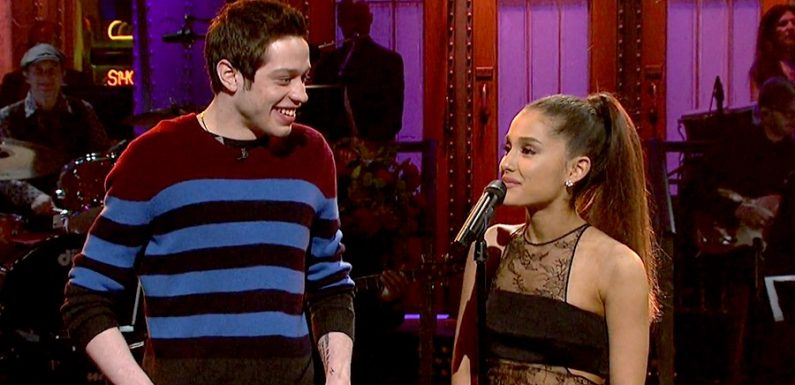 Ariana Grande Has a Framed Photo of Her and Pete Davidson on 'SNL'