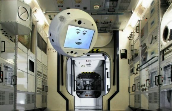Meet CIMON, The AI Robot That's Going To Space On Today's SpaceX Rocket Launch