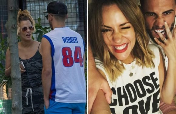 Caroline Flack and fiancé Andrew Brady have not split after sparking rumours romance was over by 'unfollowing each other'