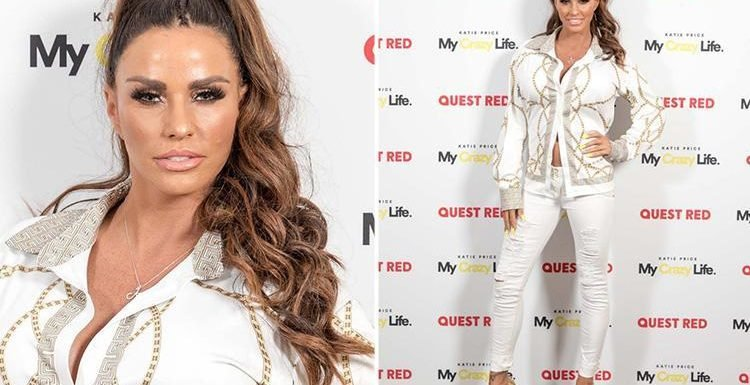 Katie Price glams up for launch of her new TV show as she prepares to lift the lid on her doomed marriage to Kieran Hayler