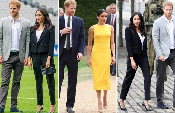 The real reason Meghan Markle always wears towering stilettos – even to sporting events