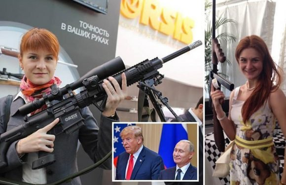 Female Russian 'spy' charged with infiltrating US political organisations under senior Kremlin official's orders