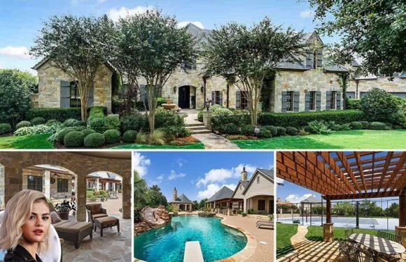 Inside Selena Gomez's £2.3m Texas home with huge pool, home spa and its own private golf course