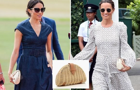 This is the £44 handbag that Meghan Markle just took to the polo… but did she borrow it from Pippa Middleton?