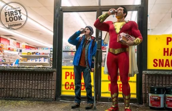 Zachary Levi's 'Shazam!' Costume Revealed in First Official Photo