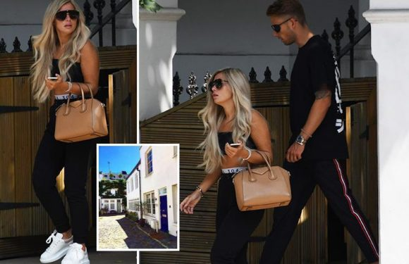 Love Island's Ellie Brown leaves Charlie Brake's million pound London mansion amid rumours she's already moved in with him