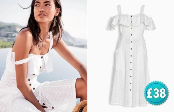 This £38 Next dress just made it onto Vogue's must-have list for the summer… so you'd better move fast