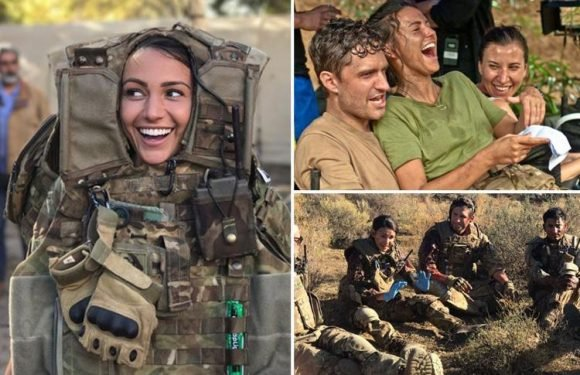 Michelle Keegan shares behind-the-scenes snaps of her Our Girl adventures as series finishes