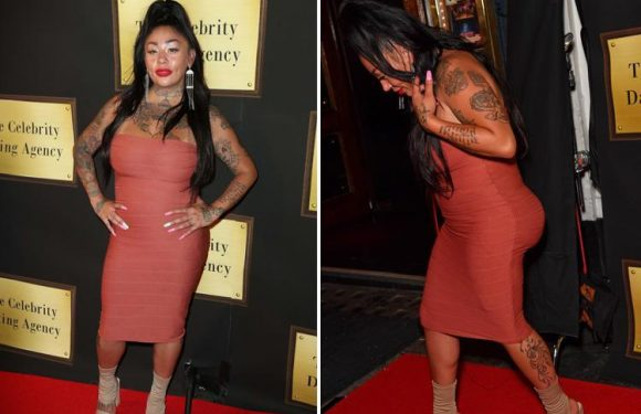 Sugababes' Mutya Buena shows off her curves as she joins the new Celebs Go Dating lineup
