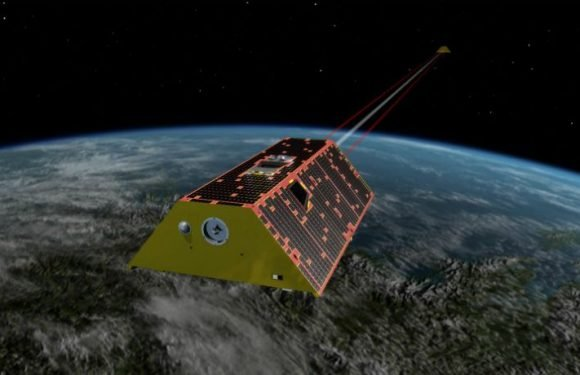 NASA's GRACE-FO Satellites Turn On Their Lasers To Find Each Other In Earth's Orbit
