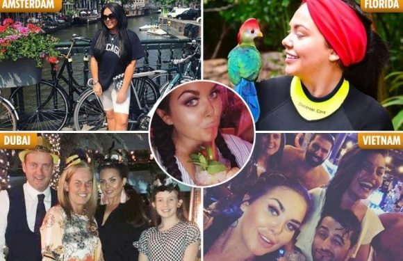 Inside Scarlett Moffatt's jetset lifestyle as she prepares to head off on her 10th holiday of the year