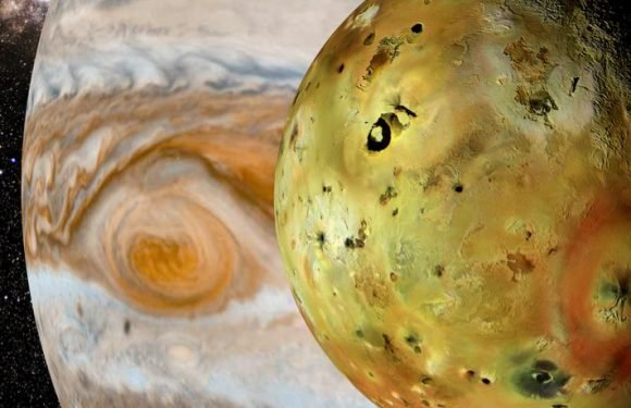 Jupiter's Moon Io Could Have A Secret Volcano That No One Knew About