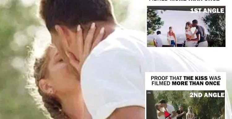 Was Georgia Steel and Jack Fowler's kiss on Love Island 'fake' after clips appear to reveal it was filmed 'more than once'