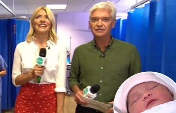 Holly Willoughby reveals she 'wants another baby' as This Morning airs live from maternity ward