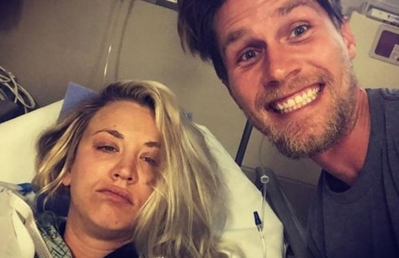 Big Bang Theory star Kaley Cuoco ends up in hospital on her honeymoon