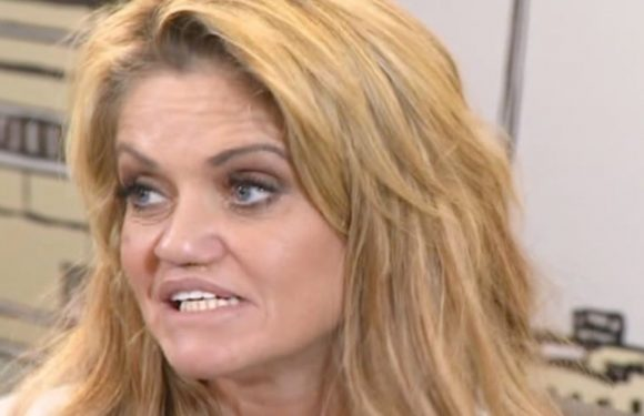 Danniella Westbrook rushed to hospital with terrifying 'burning' infection