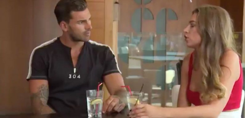 Love Island's Zara leaves Adam speechless as they're reunited for first time