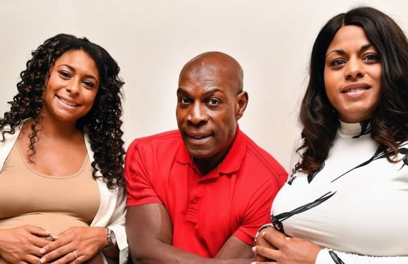 Frank Bruno celebrates becoming a grandfather with cute picture